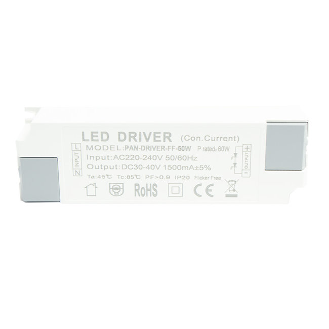 PURPL 60W LED Driver Flikkervrij