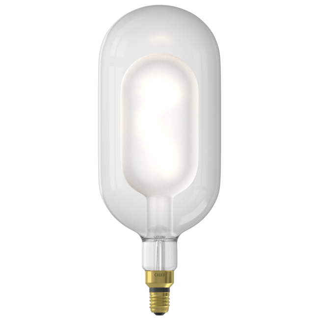 Calex LED filament Sundsvall Clear/Frosted 2300K 3W E27