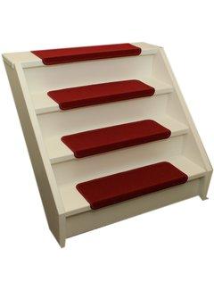 Elite Stufenmatten Elite Rote Gerade Stufenmatten