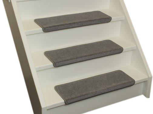 Elite Stufenmatten Elite Soft Hellgraue Gerade Stufenmatten