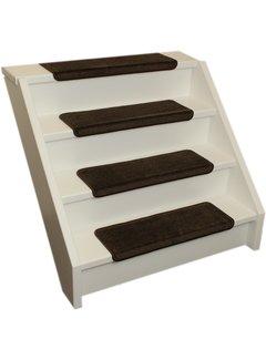 Elite Stufenmatten Elite Soft Braune Gerade Stufenmatten