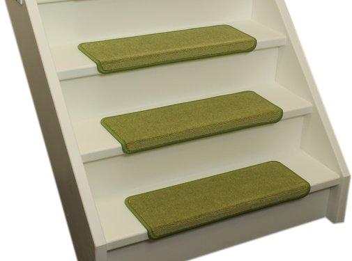 Elite Stufenmatten Elite Soft Kalkgrüne Gerade Stufenmatten