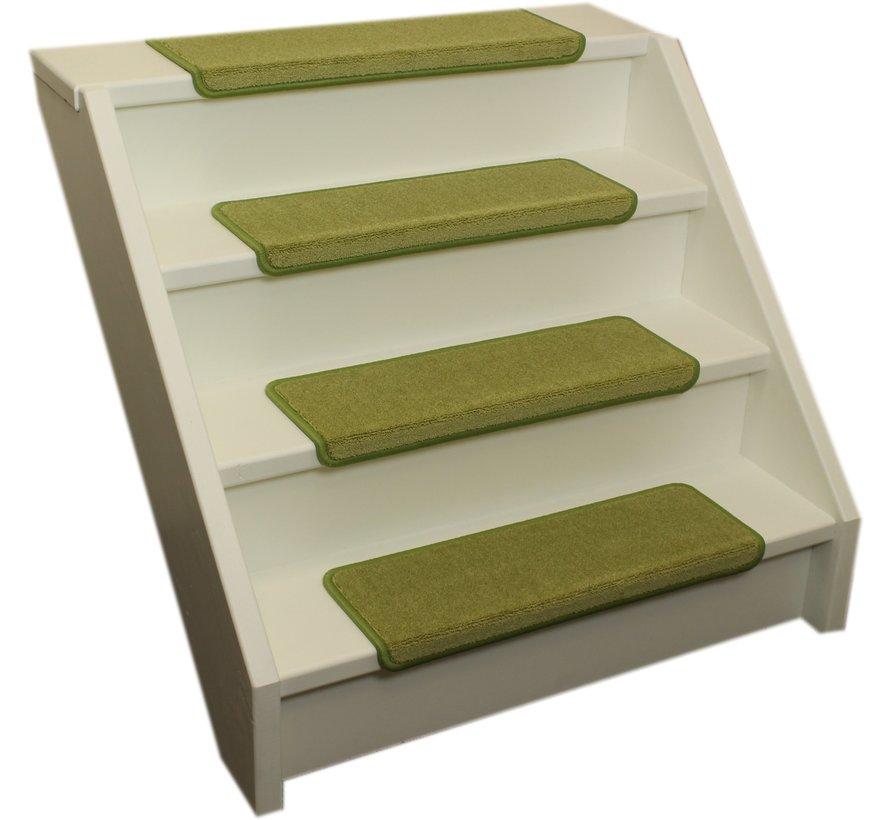 Elite Soft Kalkgrüne Gerade Stufenmatten