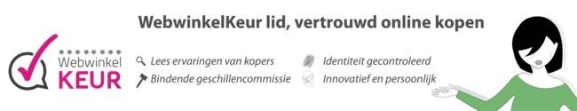 De webshop van Becidor is gekeurd door stichting Webwinkel Keur en voldoet aan alle eisen.