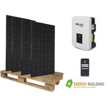 9  panelen (3105 Wp)