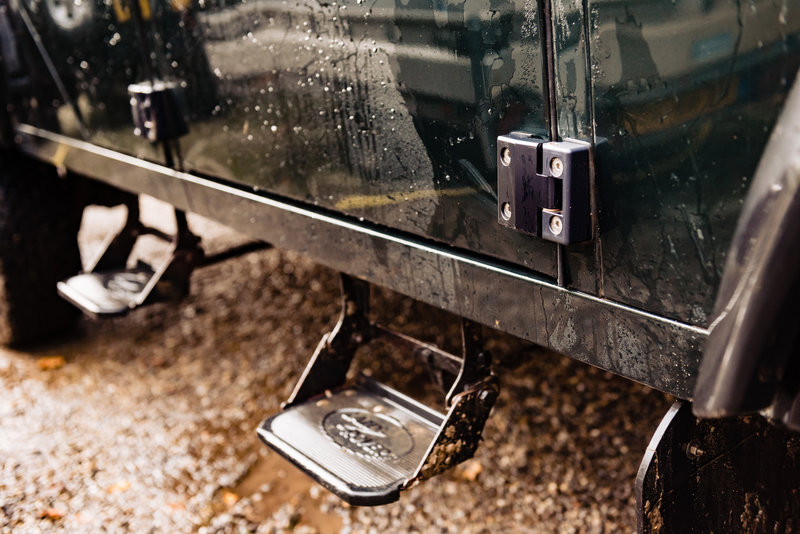Deurscharnieren geschikt voor Land Rover Defender