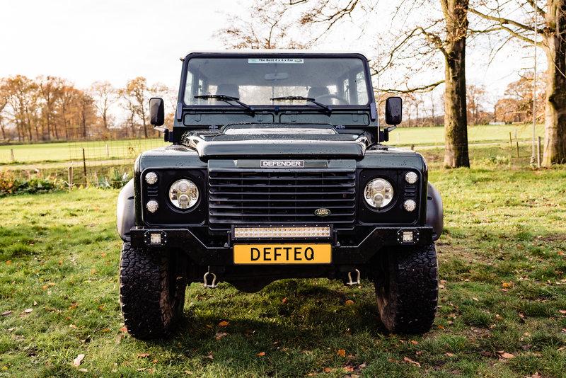 Bumper Edge voor Land Rover Defender