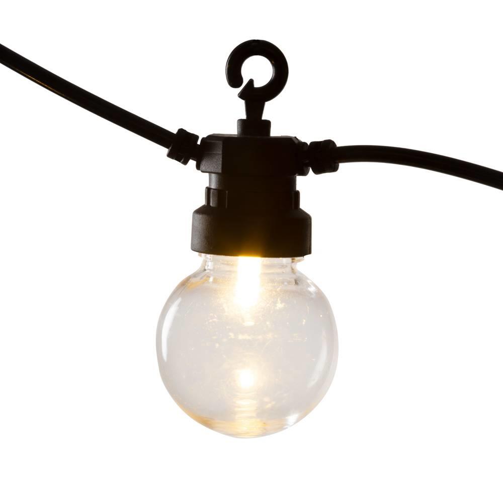 Regular Round Bulbs Patio Lichterkette Transparant-7