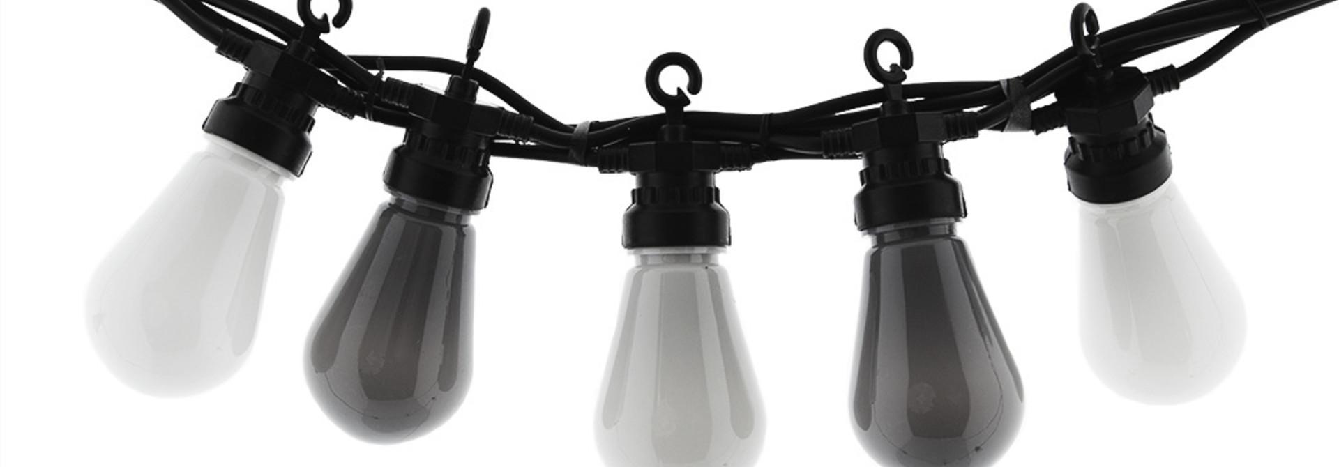 Regular Edison Bulbs Patio Lichterkette - Antra