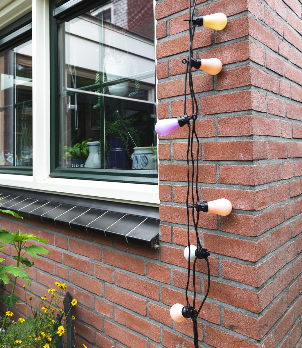 Regular Edison Bulbs Patio Lights  - Lavender-6
