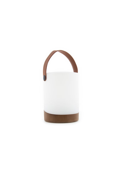 Outdoor Table Lamp Mabe + Speaker Walnut