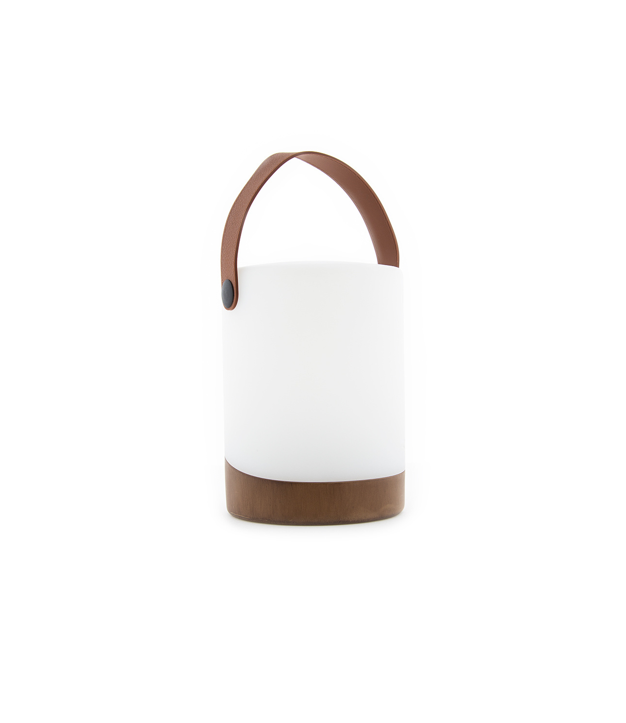 Outdoor Table Lamp Mabe + Speaker Walnut-1