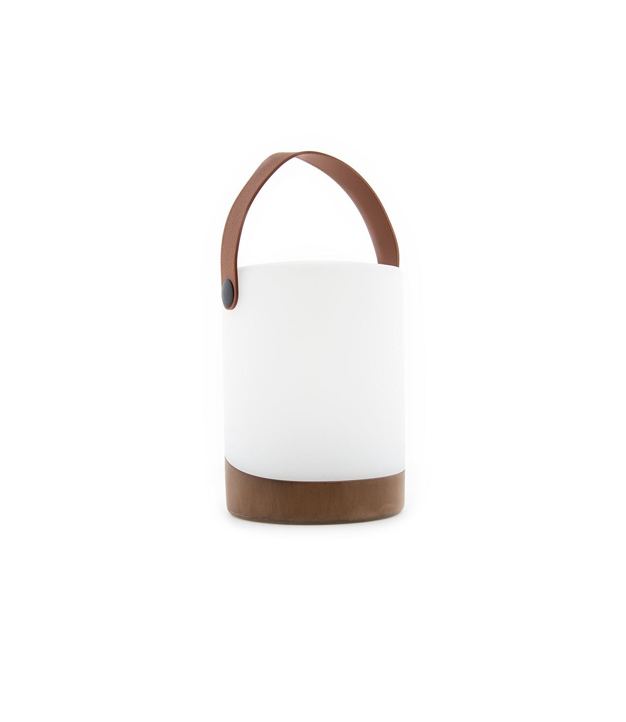 Buiten Tafellamp Mabe + Luidspreker Walnoot-1