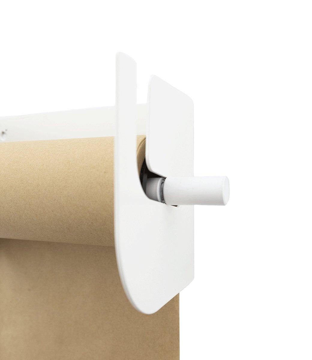 Kraft paper roller L - White-3