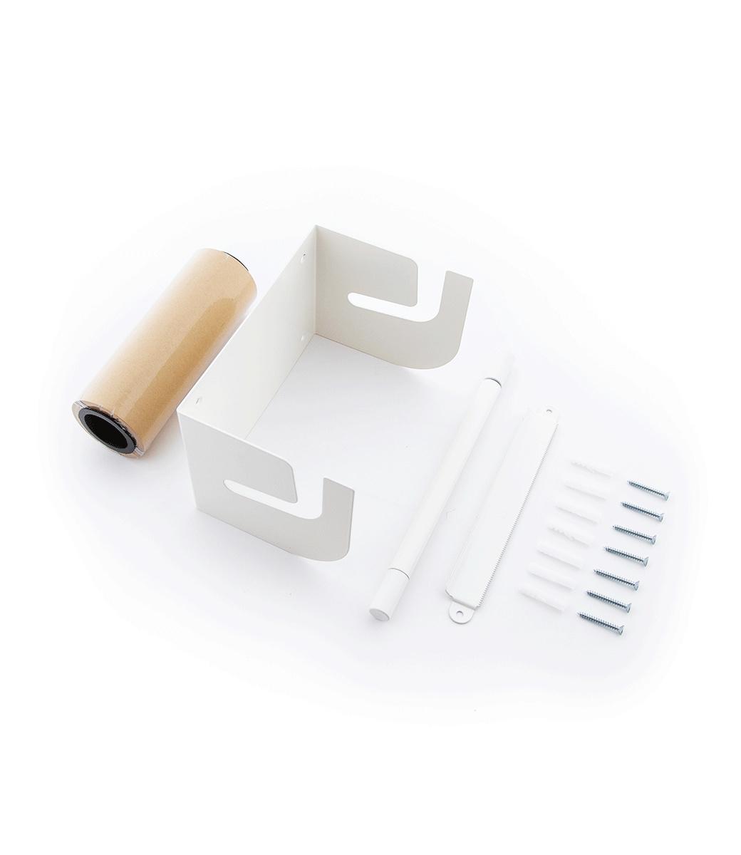 Kraft paper roller M - Wei§-2