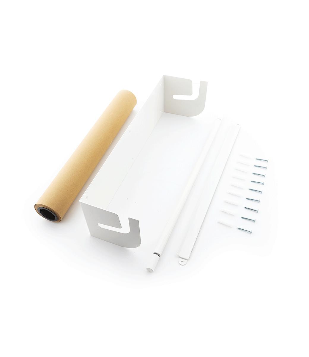 Kraft paper roller XXL - Wei§-2