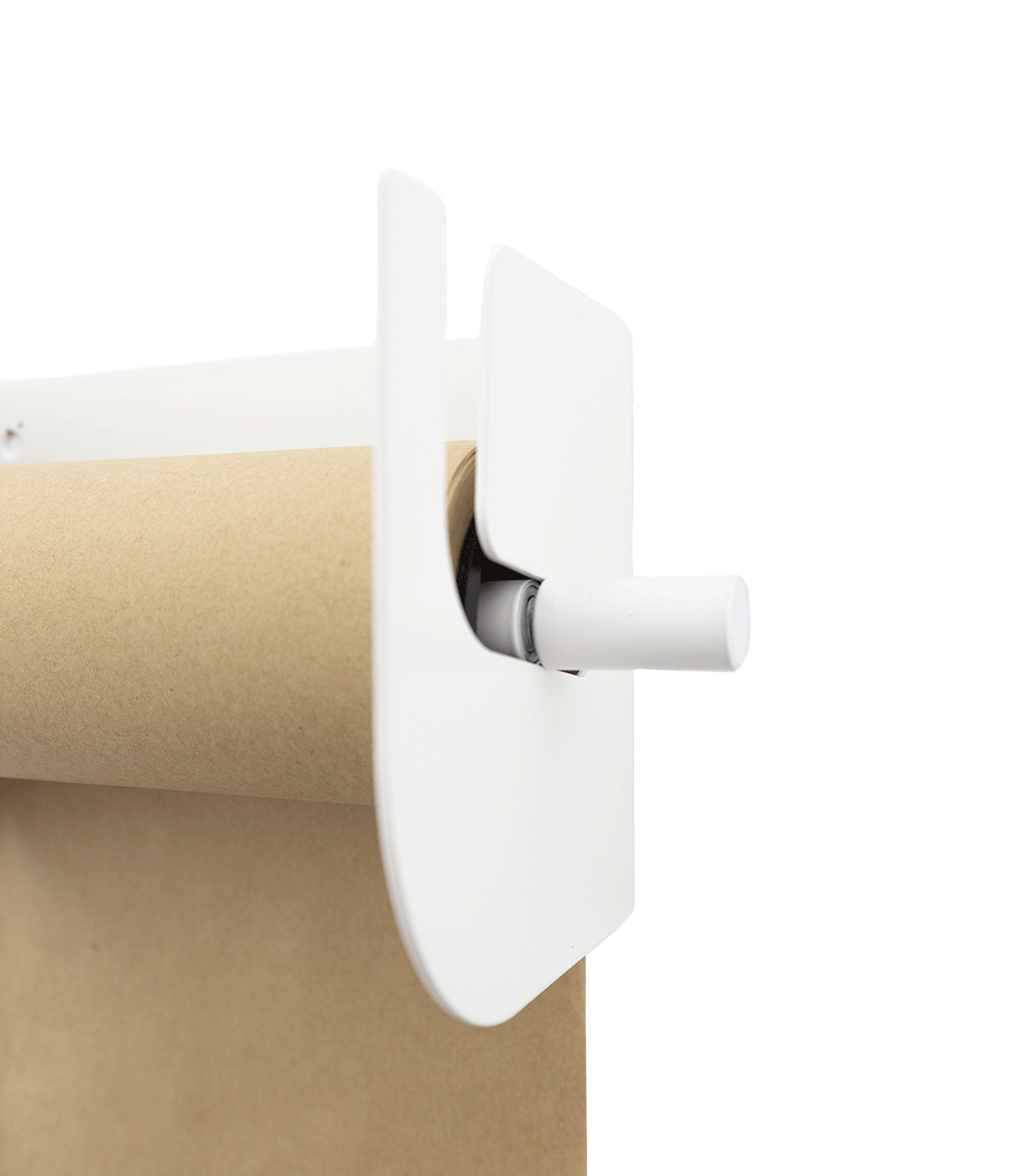 Kraft paper roller XL - White-3