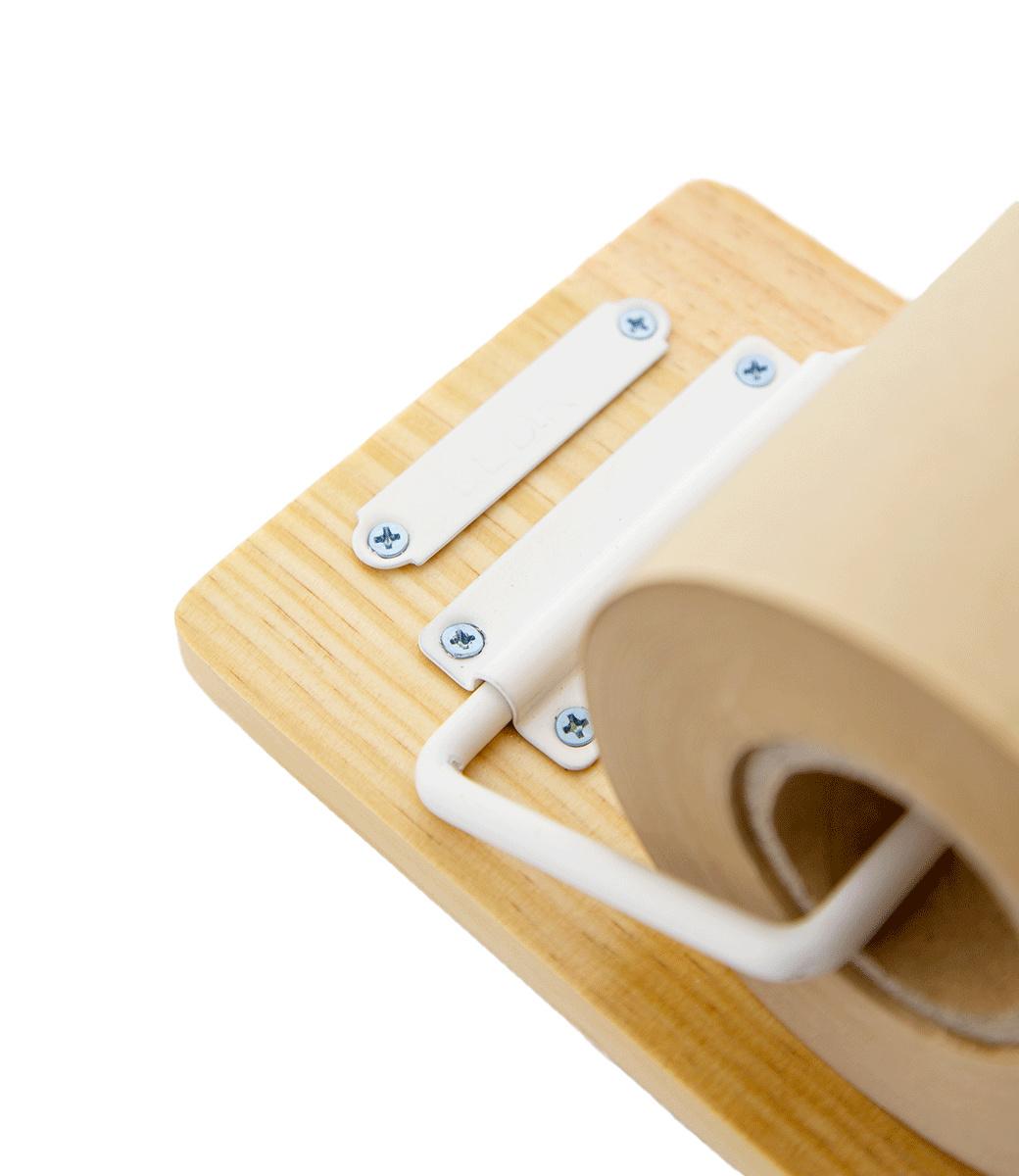 Kraft Paper Roller S - White-4