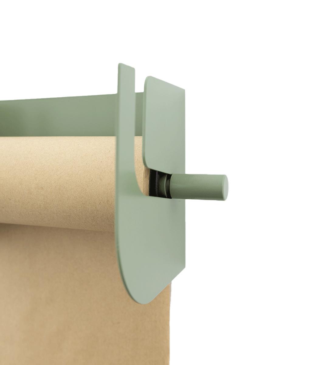 Kraft paper roller XL - Green-3