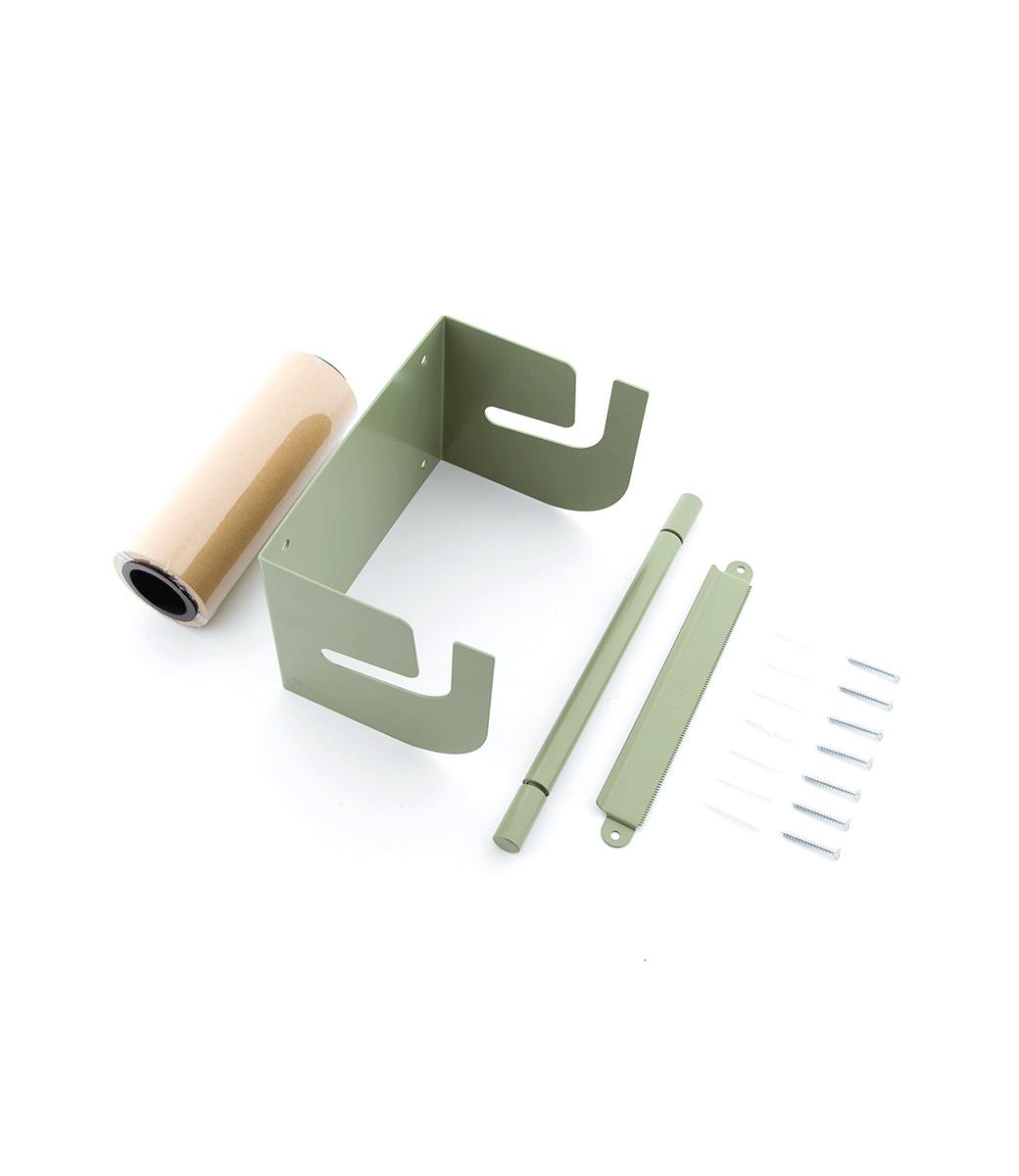Kraft Paper Roller M - Groen-2
