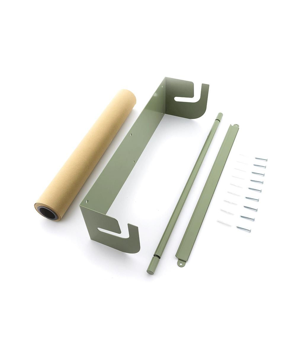 Kraft paper roller L - Grün-2