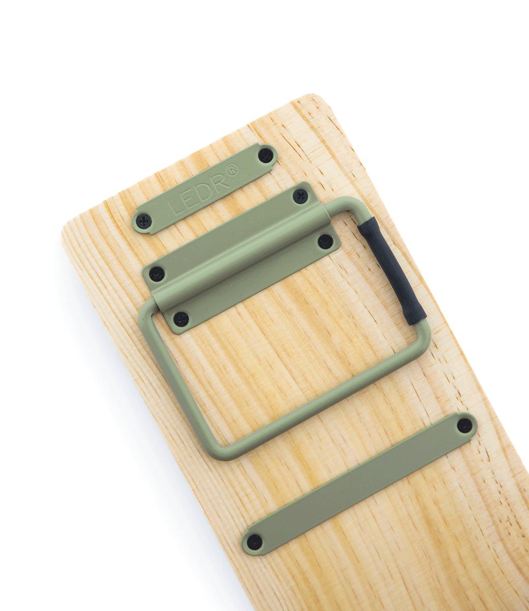 Kraft Paper Roller S - Groen-3