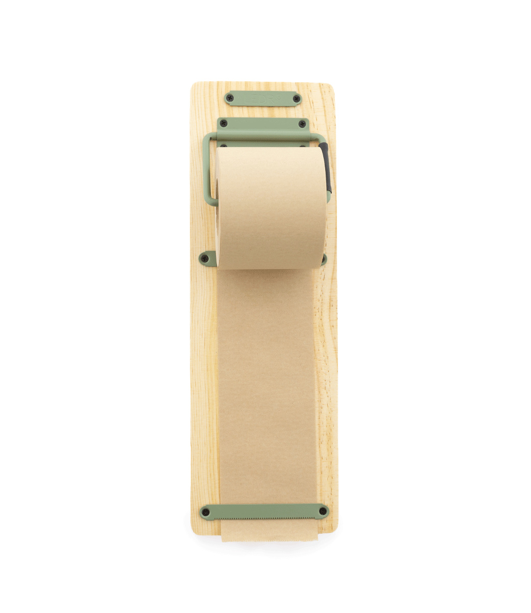 Kraft Paper Roller S - Groen-1