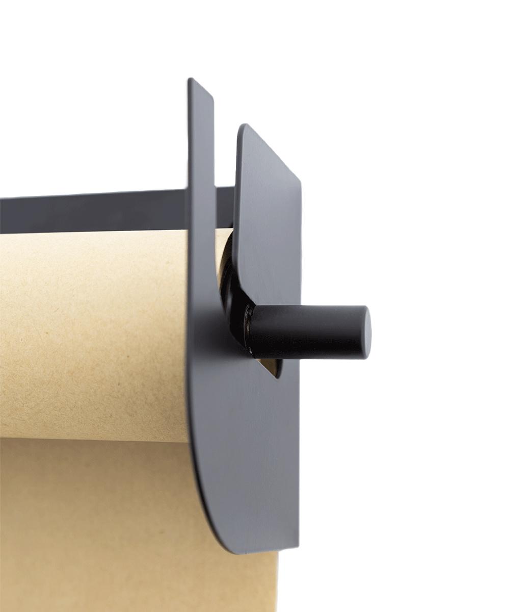 Kraft Paper Roller L - Zwart-5
