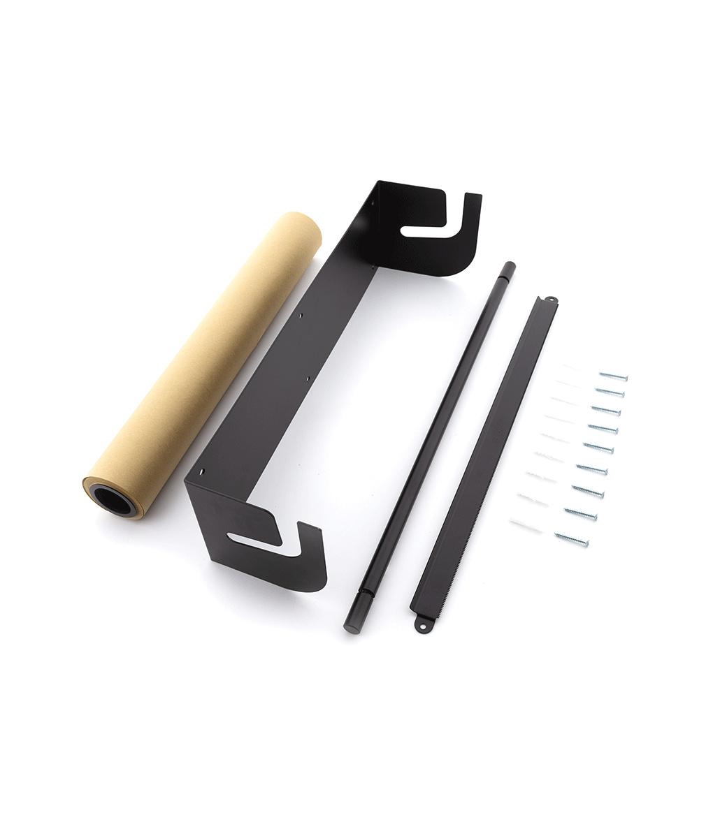 Kraft Paper Roller L - Zwart-3