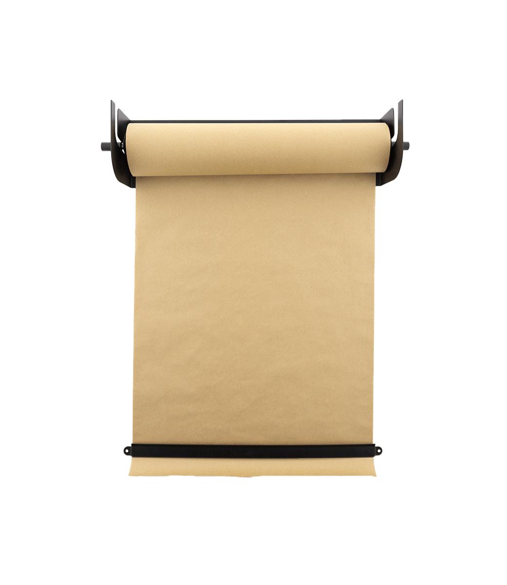 Kraft Paper Roller L - Zwart-8
