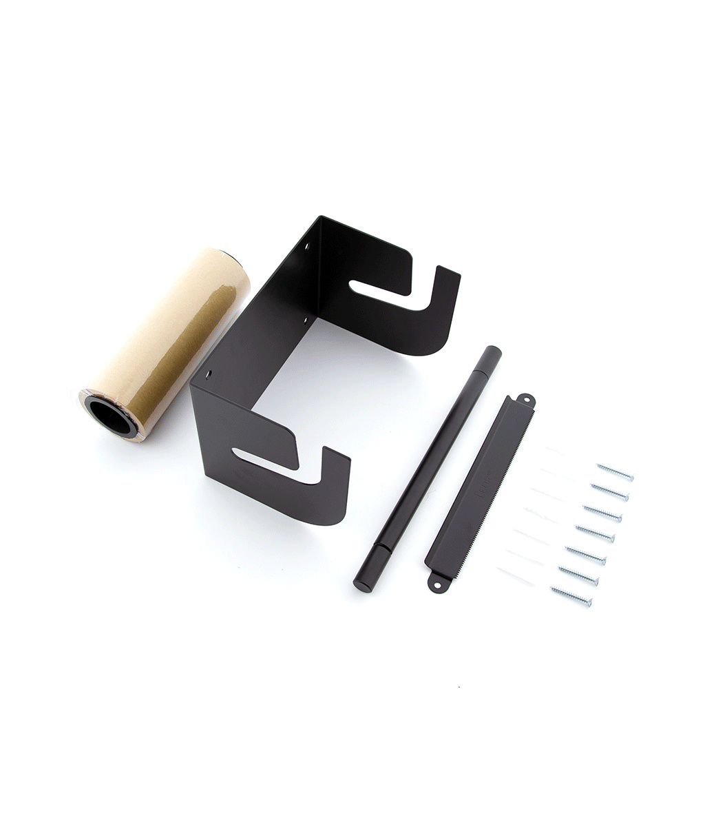 Kraftpapier Roller M - Schwarz-4