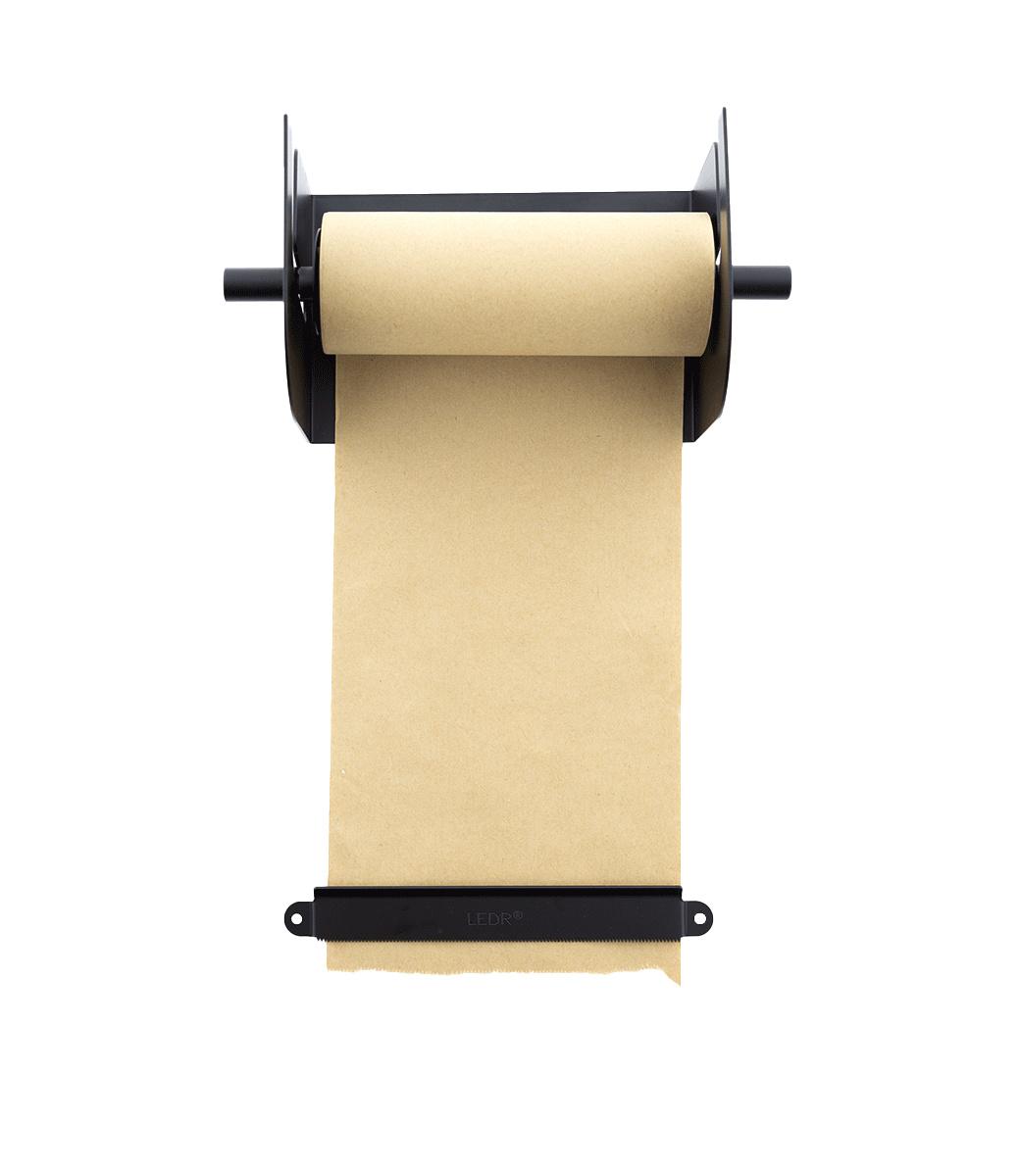 Kraft Paper Roller M - Zwart-8