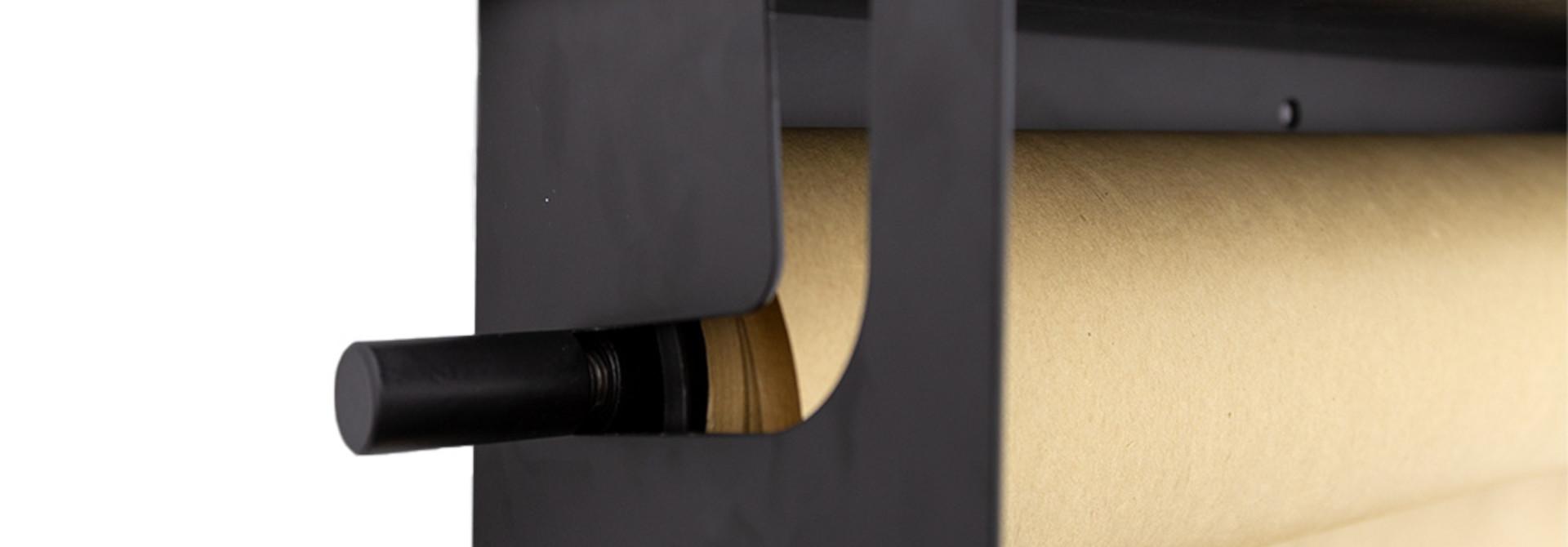 Wooden shelf - Schwarz