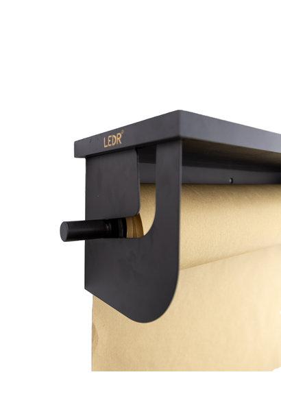 Wooden shelf - Black