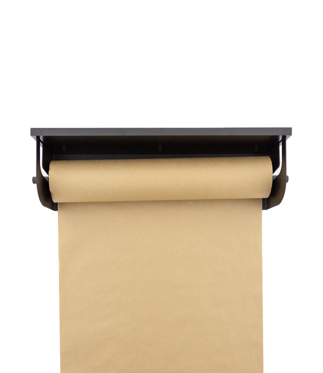 Wooden shelf - Schwarz-3