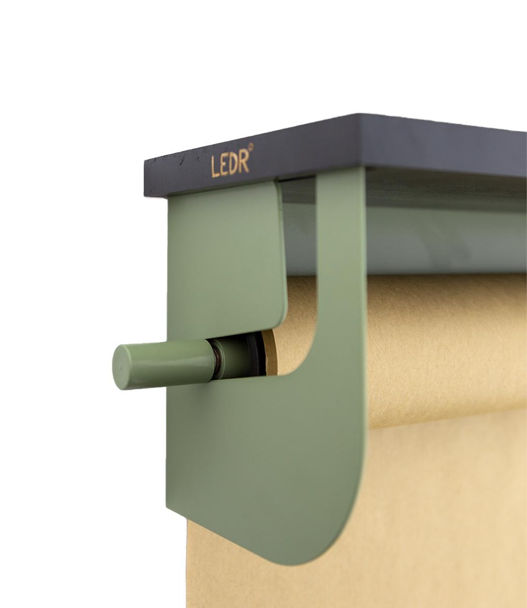 Wooden shelf - Schwarz-4