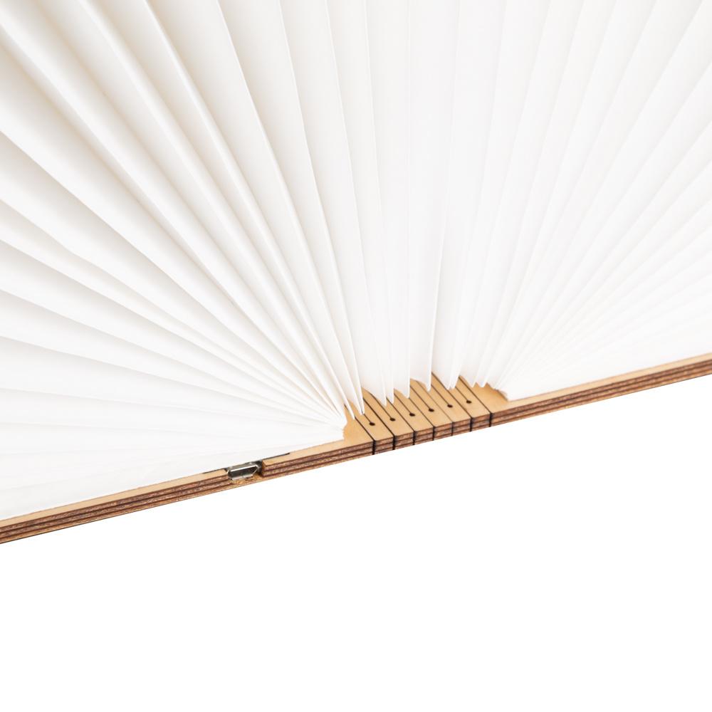 Buchlampe Ahornfarben M-7