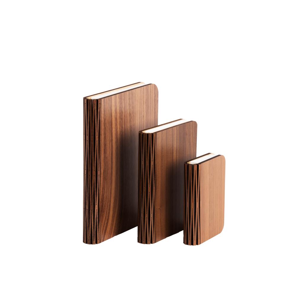Book Lamp Walnut Brown L-9