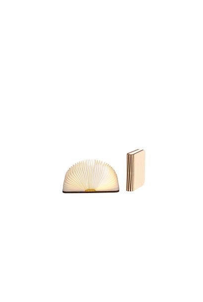 Buchlampe Ahornfarben S