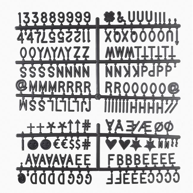 Letter Board wei§ - 30 x 45 cm-5