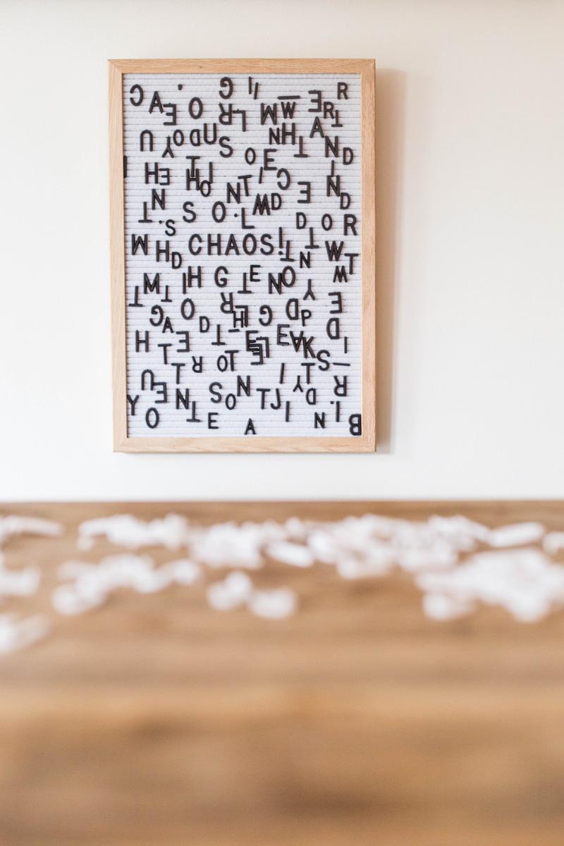 Letter Board wei§ - 30 x 45 cm-3