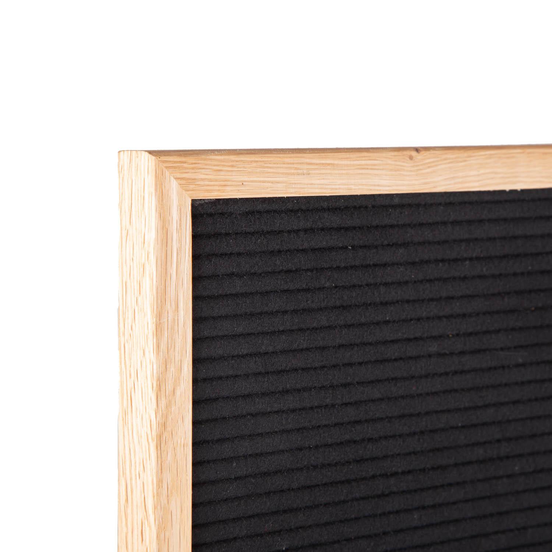 Letter Board Schwarz 30 x 45 cm-9