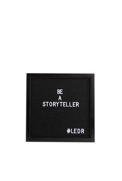 Letterboard All Black M
