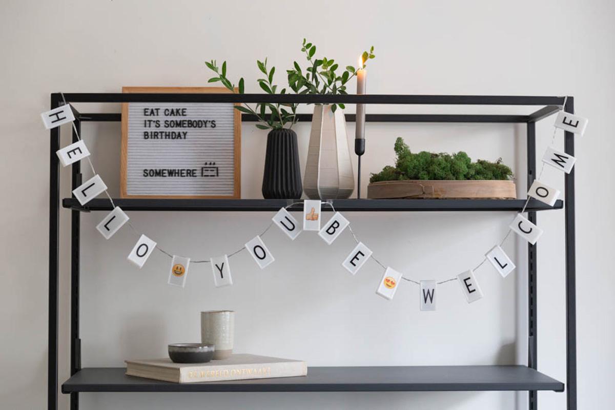 Letter Board wei§ 30 x 30 cm-5