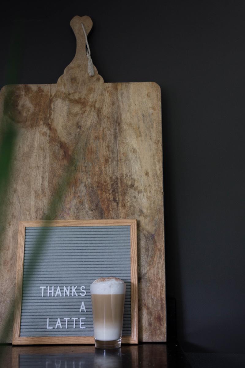 Letterboard Grijs 30 x 30 cm-2