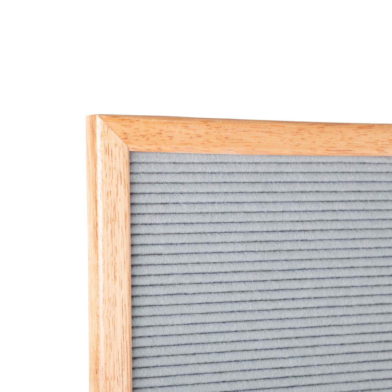Letterboard Grey 30 x 30 cm-8
