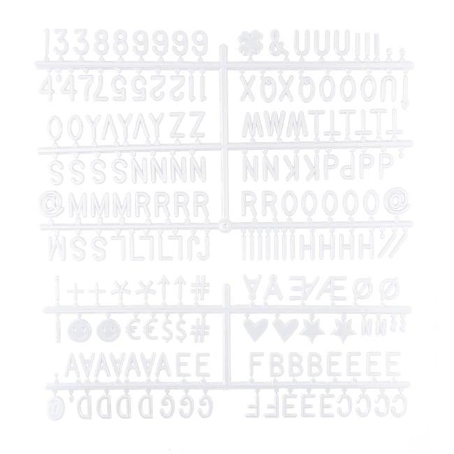 Letterboard Zwart 30 x 30 cm-7