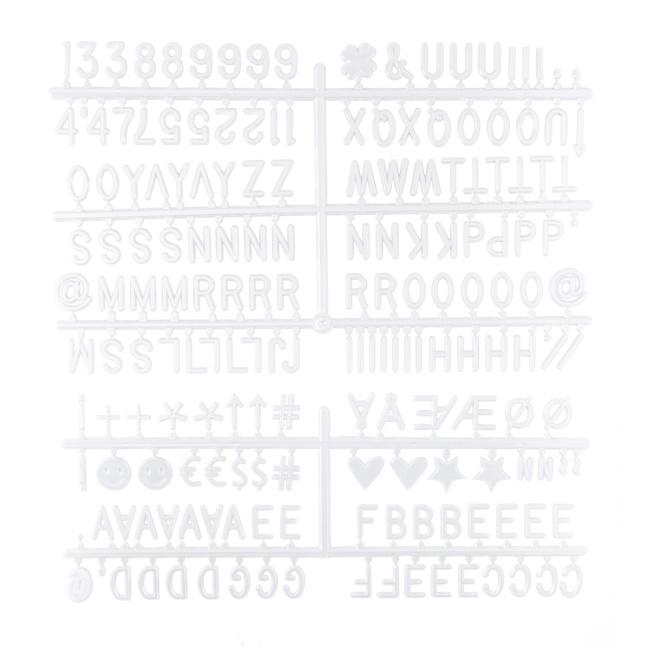 Letterboard Black 30 x 30 cm-7