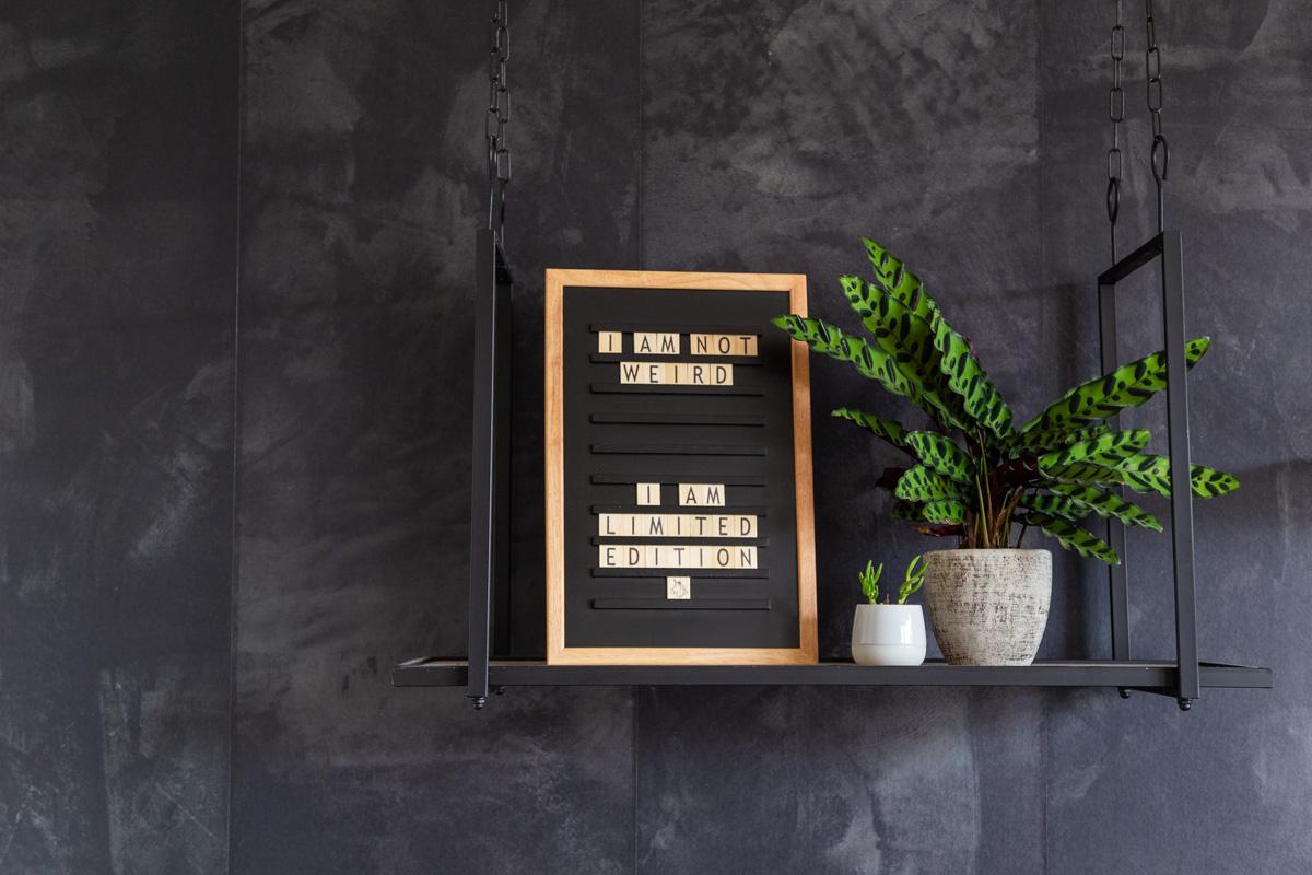 Oldschool Letterboard Black-5