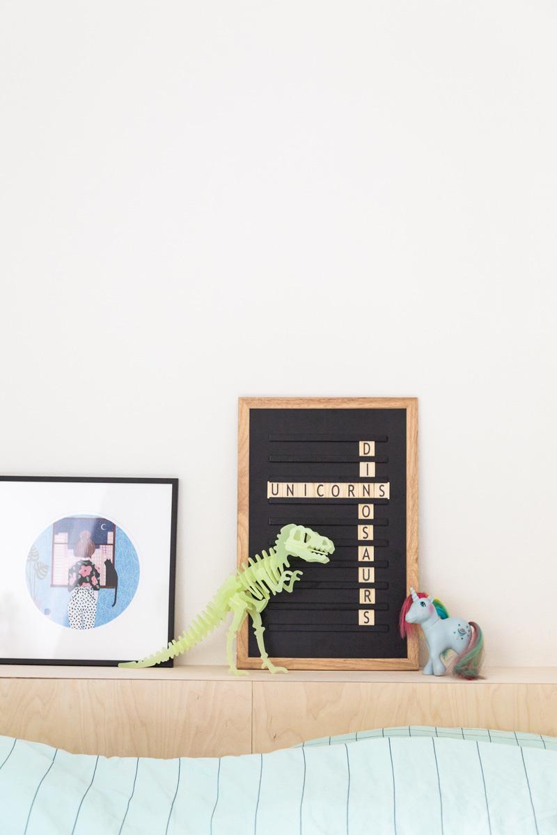 Oldschool Letterboard Black-4